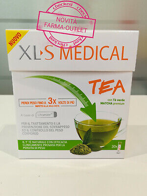 Xls Medical Tea 30 Stick Novita' Perdi Peso Fino A 3 Volte Di Più Dalla Dieta