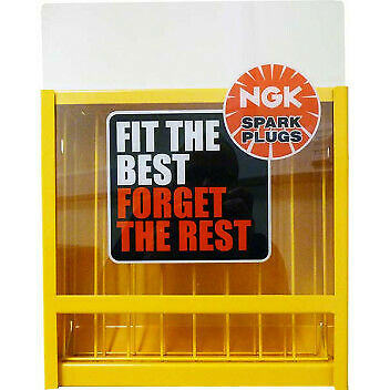 Ngk 80 Spark Plug Stand Display Rack Cabinet Dispenser For Garages / Workshops