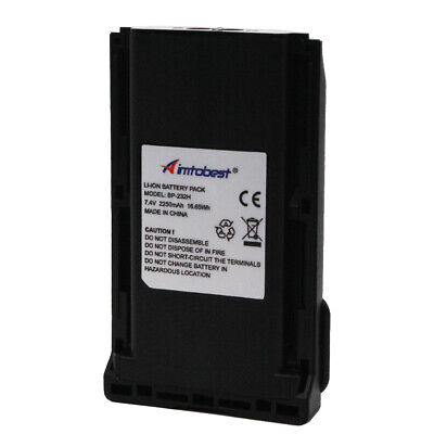BP232H 2250mAh Li Ion Battery For ICOM F33 F43 F14 F24 F3021 F4021 F3161 F4161