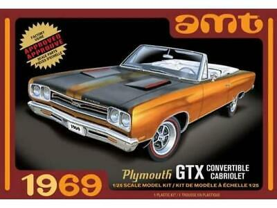 AMT 1/25 1969 Plymouth GTX Convertible Cabriolet AMT1137