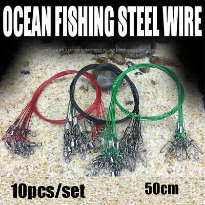 Solid Monel Trolling Wire USA 30Lb 831/' Ft .020 Diameter Fishing Leader Line