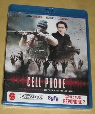 """New Film Blu-ray Disc """"CELL PHONE"""" [Stephen King] (Cusack) [NEUF SOUS CELLO!!!]"""