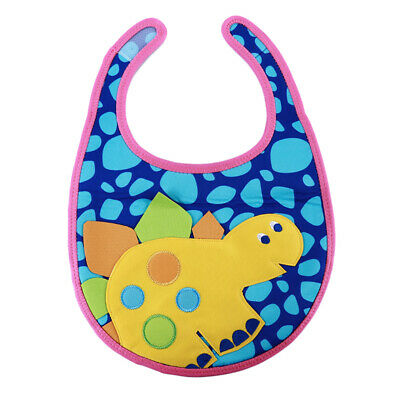 Baby Boy Girl Bibs Waterproof Cartoon Kids Bib Feeding Bandana Saliva Towel