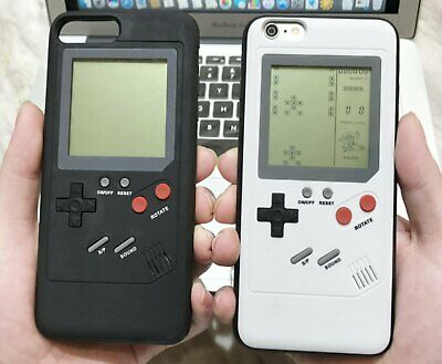 Gameboy Tetris Phone Case Back Cover 26 Games For iPhone 7/8 Plus X XS XR XS MAX