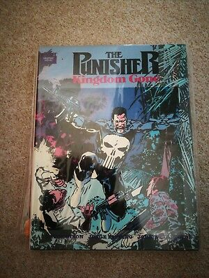 Punisher: Kingdom Gone by Chuck Dixon Hardcover 1990 First Printing