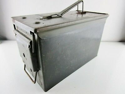 Vintage Ammo Can Box US Army Military Ammunition Metal Storage Stash