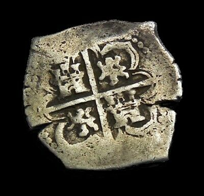 Spain 2 Reales Bolivia Philip III 1598-1621 Silver Coin