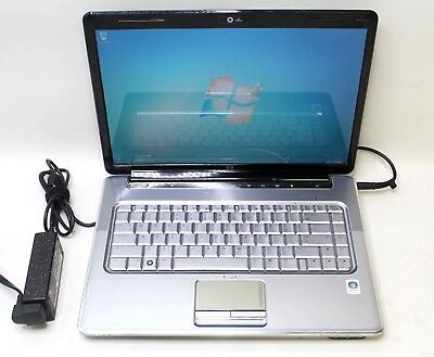 "HP PAVILION DV5 AMD TURION X2 2GHz 3GB RAM 250GB HD 15.6"" WINDOWS 7 PRO"