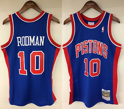 new concept b2ce5 0ae6b DENNIS RODMAN DETROIT Pistons Mitchell & Ness NBA 1988-1989 Authentic Jersey