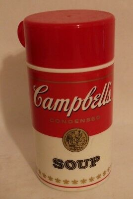 Vintage Campbells Soup Thermos 1998 Red and White Looks like a Soup Can