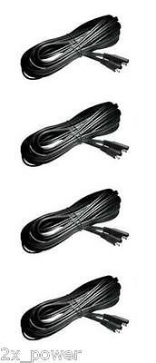 4 Pack - Deltran Battery Tender 12.5 Ft Extension Cables - Lead - 12.5' - 12.5Ft