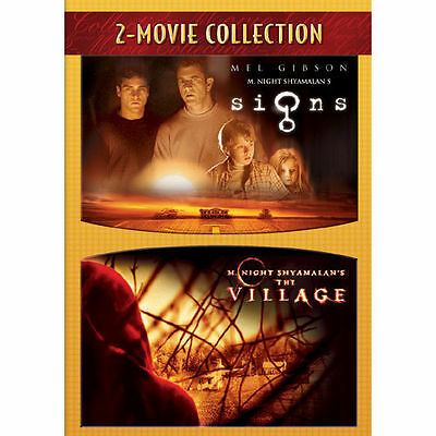 Signs/The Village (DVD, 2007, 2-Movie Collection) New Fast Free Shipping!