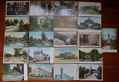 21 Old Lancaster Pa Postcards 1905 & Later
