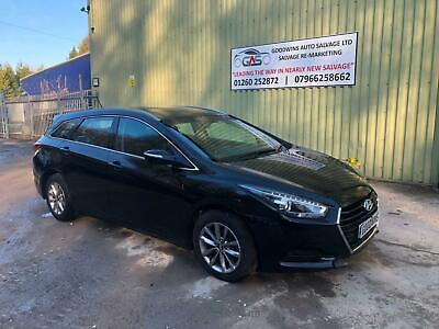 2017 67 HYUNDAI i40 1.7CRDi ESTATE TOURER UNRECORDED DAMAGED REPAIRABLE SALVAGE
