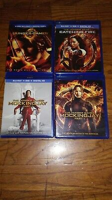 The Hunger Games: The Complete 4-Film Collection (ALL Blu-Ray)