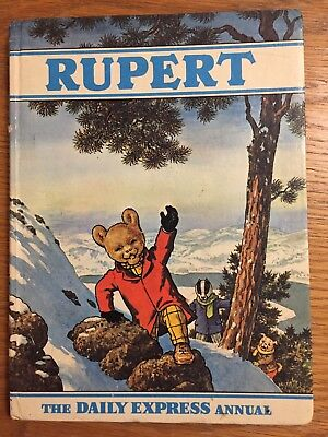 Rupert Bear Annual - Number 36- Year 1970 Issue - Hardback Book