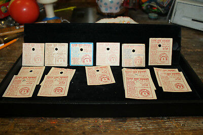 Mallo Cup Play Money Save 500 Coins Coupons Rare Old Vintage