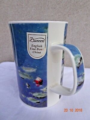"DUNOON Water Lilies "" MONET"" PAINTINGS Fine Bone China MUG"