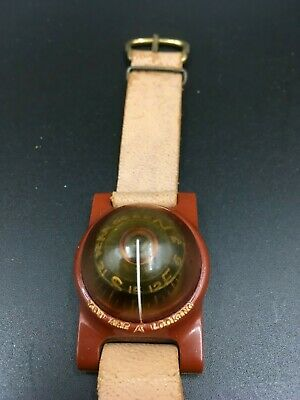Vintage Training You Are Here Looking Wrist Compass - Possibly Scouts