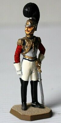 Painted Metal 54mm Rose Miniatures 1833 1st & 2nd Life Guards Model Officer
