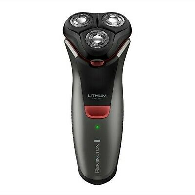 Remington R4000 Series Electric Rotary Shaver, Fully Washable, Black/Red, PR1340