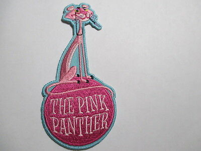 Pink Panther Patch 1 7/8 x 4  inches NOS