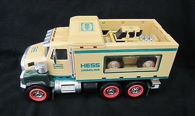 2008 Hess Gasoline Tractor & Carrier Truck Front Loader Lights and Sounds