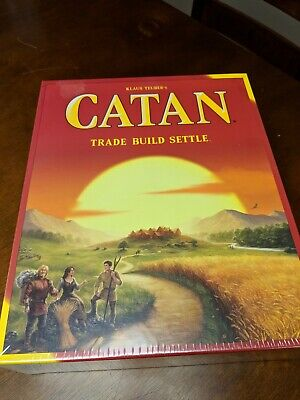 Settlers of Catan Board Game 5th Edition 3071 New