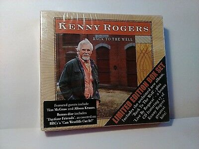 Kenny Rogers - Back to the Well - Limited Edition Box Set - 2CD Album New/Sealed