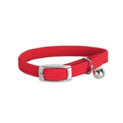 collier chat r ANTI ETRANGLEMENT 28CMS COULEUR ROUGE