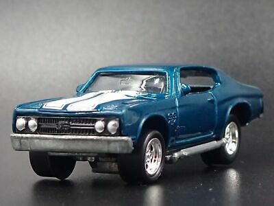 1970 Chevy Chevrolet Chevelle Ss Rare 1:64 Collection Diorama Voiture Miniature
