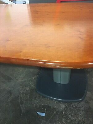 boardroom table and 8 chairs