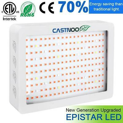 2000W LED Grow Light Hydro Full Spectrum Veg Flower Indoor Plant Lamp Panel BT