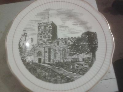 St.Mary & Saint Bardulph Breedon-on-the-Hill 1300th Anniversary Plate.