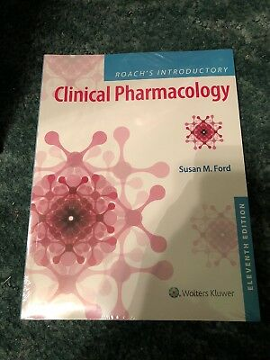 Roach's Introductory Clinical Pharmacology Susan M. Ford paperback 2018 11th ed.