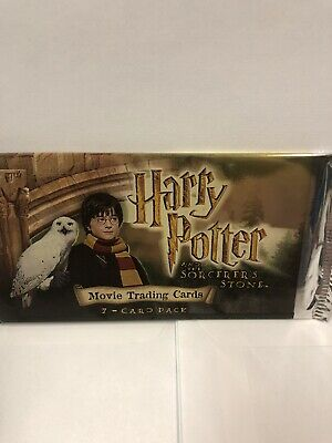 New Sealed Rare Pack Of Harry Potter Movie Trading Cards.