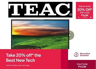 "TEAC 32"" FHD LED LCD DVD Combo TV with USB Recording LEV32GD3HD *RFB*"