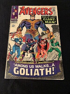 The Avengers # 28  May 1966 ! * 1st App The Collector ! 1st Goliath ! * VF !