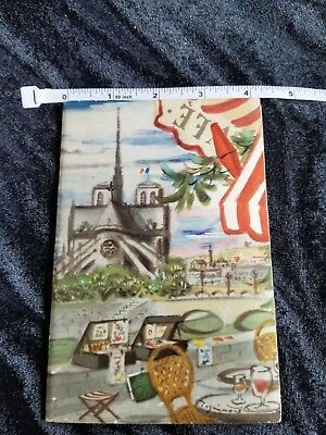 1939 French tourism booklet France/Paris cover by Andre Dignimont  -Beautiful