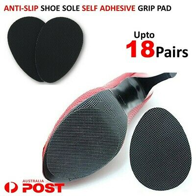 Anti Slip Shoes Heel Sole Grip Protector Non-Slip Shoe Rubber Pads Self Adhesive