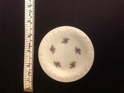 Rosenthal Collectable German Rose Pattern Porcelain Plate 9cms  in E.C.