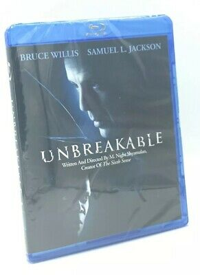 Unbreakable (Blu-ray Disc, 2008) NEW