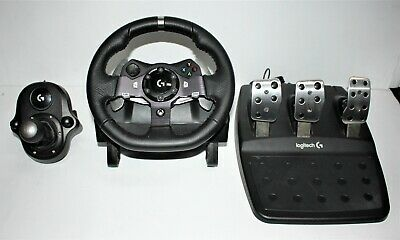 695d40ecf88 Logitech G920 Driving Force Racing Steering Wheel + Pedal Xbox One & PC  #87179