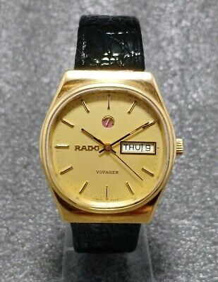 Vintage Rado Voyager Automatic Cal. 2836 Swiss Made Men's Watch.