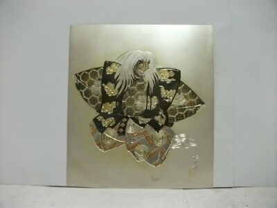 Pure gold, pure silver, a metal engraving product. Female demon. KEIGETU's work