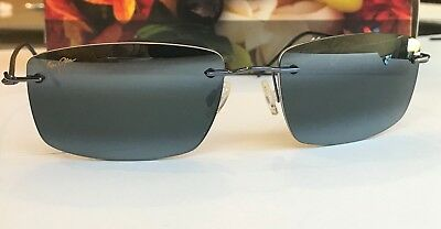 35000186f7d  NEW Maui Jim SANDHILL 715-06 Polarized Sunglasses Gunmetal Blue Similar  Frigate