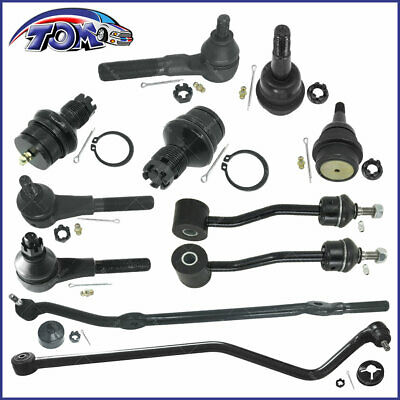 Brand New 11Pcs Complete Front Suspension Kit For 1997-2006 Jeep Tj Wrangler