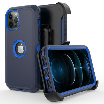 for iPhone XR/XS Hybrid Case Heavy Duty Cover+Belt Clip fit Otterbox Defender