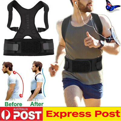 Adjustable Posture Corrector Clavicle Back Straight Shoulder Support Brace Belt