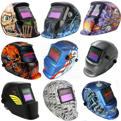 New Solar Auto Darkening Welding Helmet Mask ARC TIG MIG High Quality AU